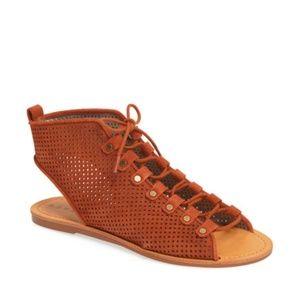 Hinge Reid Lace-Up Sandal (Women)